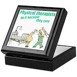 Female Physical Therapist Keepsake Box