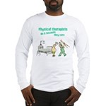 Female Physical Therapist Long Sleeve T-Shirt