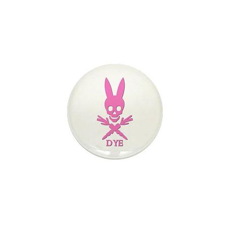 DYE (pink) Mini Button