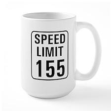 Speed Limit 155 Mug