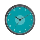 Teal Wall Clocks