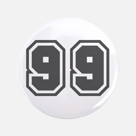 "Number 99 3.5"" Button"