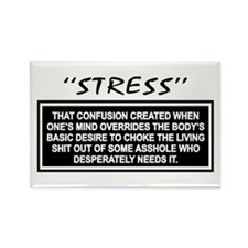 Stress Rectangle Magnet