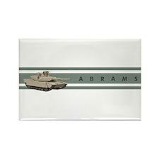 Abrams Rectangle Magnet