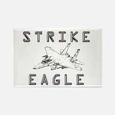 Strike Eagle Rectangle Magnet