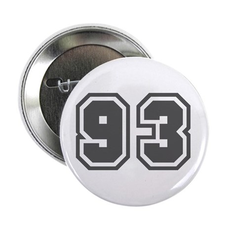 """Number 93 2.25"""" Button"""
