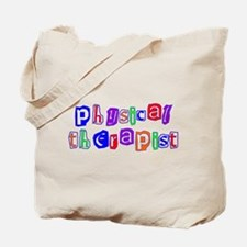 Physical Therapist Colors Tote Bag