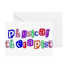 Physical Therapist Colors Greeting Card
