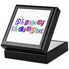 Physical Therapist Colors Keepsake Box