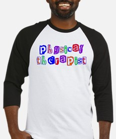 Physical Therapist Colors Baseball Jersey