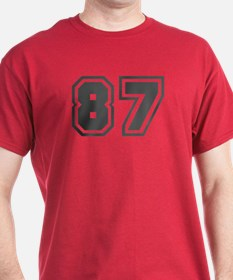 Number 87 T-Shirt