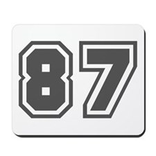 Number 87 Mousepad