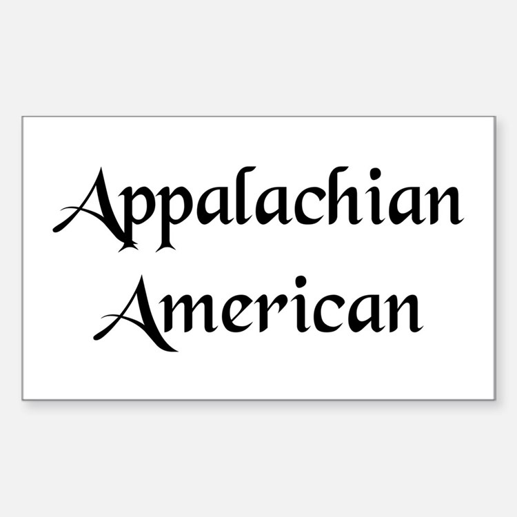 Appalachian American Decal