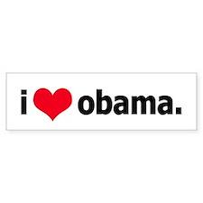 I *heart* Obama Bumper Bumper Sticker