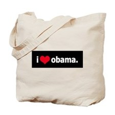 I *heart* Obama Tote Bag