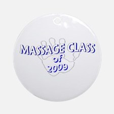 Massage Class of Ornament (Round)