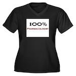 100 Percent Pharmacologist Women's Plus Size V-Nec