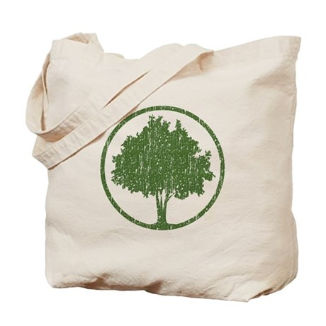 Vintage Tree Tote Bag