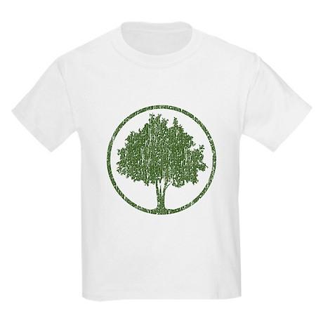 Vintage Tree Kids Light T-Shirt