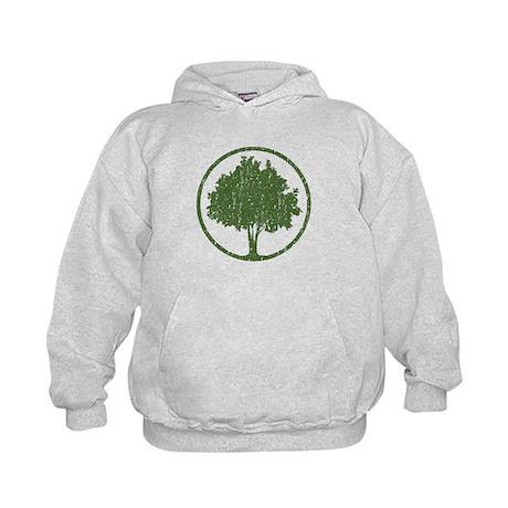 Vintage Tree Kids Hoodie