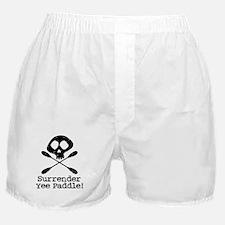 Kayaking Pirate Boxer Shorts
