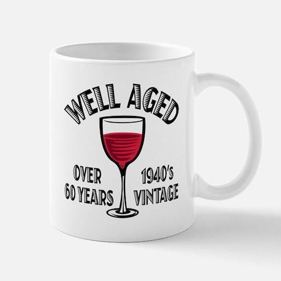 Over 60th Birthday Mug