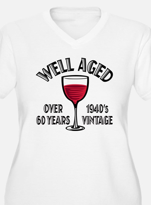 Over 60th Birthday T-Shirt