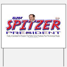 Eliot Spitzer for President Yard Sign