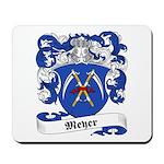 Meyer Family Crest Mousepad