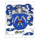 Meyer Family Crest Small Poster