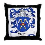 Meyer Family Crest Throw Pillow
