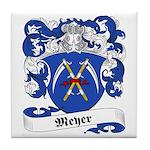 Meyer Family Crest Tile Coaster
