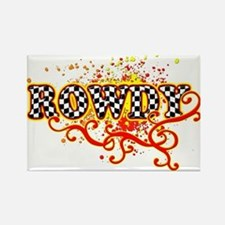 Rowdy 3 Rectangle Magnet