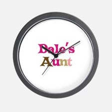 Dale's Aunt Wall Clock