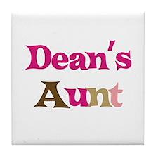 Dean's Aunt Tile Coaster