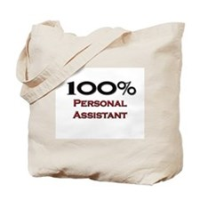 100 Percent Personal Assistant Tote Bag