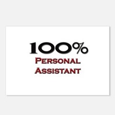 100 Percent Personal Assistant Postcards (Package