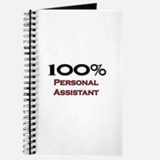 100 Percent Personal Assistant Journal