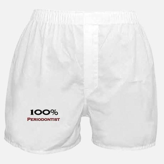 100 Percent Periodontist Boxer Shorts