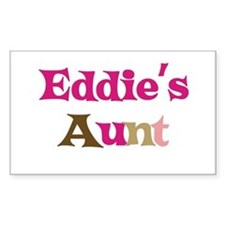 Eddie's Aunt Rectangle Decal