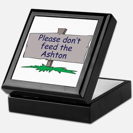 Please don't feed the Ashton Keepsake Box