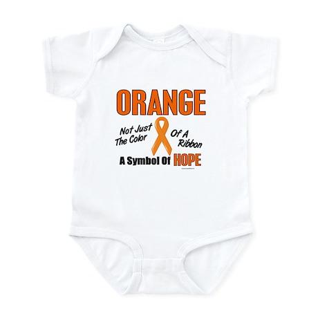 ORANGE Not Just A Color 3 Infant Bodysuit