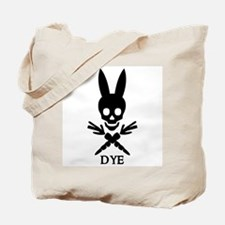 DYE (black) Tote Bag