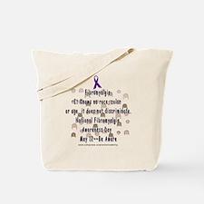 Fibro Discriminates.. Tote Bag