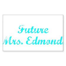 Future Mrs. Edmonds Rectangle Decal