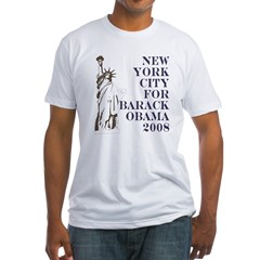 NYC for Obama 08 Shirt