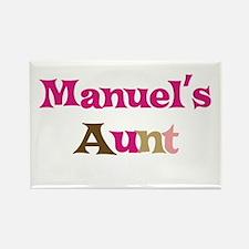 Manuel's Aunt Rectangle Magnet