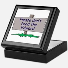 Please don't feed the Edward Keepsake Box