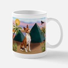 Basenji at the Pyramids Mug