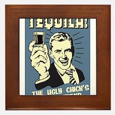 Ugly Chicks Friend Framed Tile
